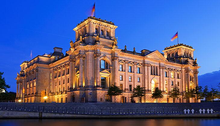 Reichstag Nachtaufnahme